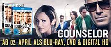"DVD/BD - VÖ | ""The Counselor"": Packend und verstörend"