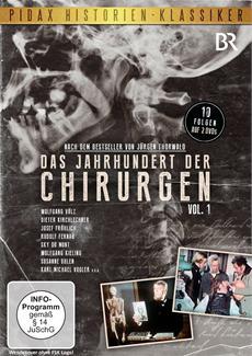 DVD-VÖ | der starbesetzten Serie Das Jahrhundert der Chirurgen, Vol. 1 und Vol. 2