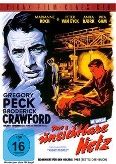 """DVD-VÖ   DVD-Veröffentlichung von """"Das unsichtbare Netz"""" mit Gregory Peck am 02.10.2014"""