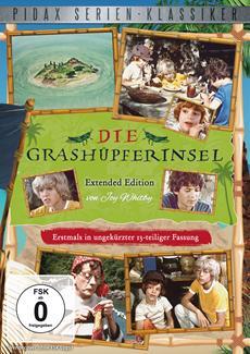 """DVD-Veröffentlichung der kompletten Serie """"Die Grashüpferinsel (Extended Edition)"""" am 23.08.2013"""