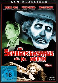 Ab 03.12.2012 auf DVD: KSM Klassiker - Das Schreckenshaus des Dr. Death