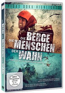 """DVD-Veröffentlichung der preisgekrönten Dokumentation """"Die Berge, die Menschen, der Wahn"""" am 14.04.2015"""
