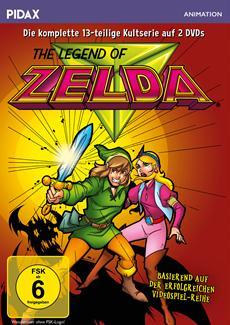 """DVD-VÖ: der Kultserie """"The Legend of Zelda"""""""