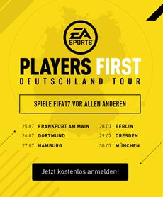 EA SPORTS Players First Tour startet am 25. Juli
