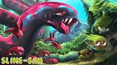 Ein riesiger Wurm, ein glitschiger Held, hunderte Levels und ein starbesetzter Soundtrack
