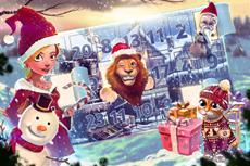 Es schneit Geschenke bei upjers