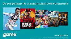 FIFA 19, Red Dead Redemption 2 und Mario Kart 8 Deluxe waren 2018 die erfolgreichsten PC- und Konsolenspiele
