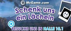 gamescom Foto-Aktion: Schenkt McGame ein Lächeln