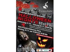 Gewinnspiel: Eintrittskarten zu den Halloween Nights - Thomashütte Erlebnisgasthaus