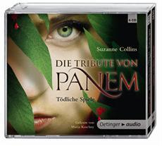 """Goldene Schallplatte für das Hörbuch """"Die Tribute von Panem - Tödliche Spiele"""""""