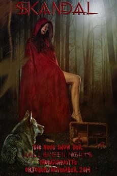 "Halloween Nights - Die neue Show ""Skandal"""