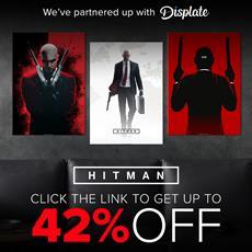 HITMAN 3 x Displate Collaboration