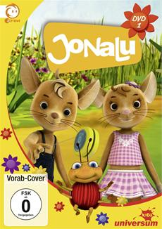 JoNaLu kommt! Die beliebte Animationsserie für Kinder im Vorschulalter erscheint jetzt erstmalig auf DVD!