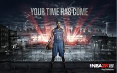 2K k&uuml;ndigt NBA MVP 2014 Kevin Durant als Cover-Athlet von NBA<sup>&reg;</sup> 2K15 an