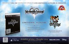 KINGDOM HEARTS HD 2.5 ReMIX: Limited Edition für Vorbesteller enthüllt