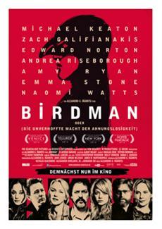 Gewinnspiel: Birdman (Kinostart : 29.01.2015)