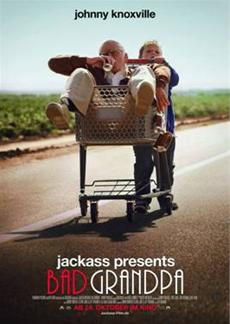 Johnny Knoxville ist Irving Zisman in JACKASS PRESENTS: BAD GRANDPA