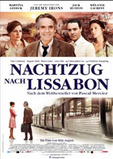 Kinostart   NACHTZUG NACH LISSABON - Kinostart 7. März 2013