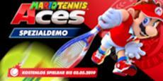 Kostenloses Trainingslager für Mario Tennis Aces mit Probezugang zu Nintendo Switch Online