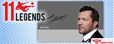 Lothar Matthäus gibt Autogrammstunde in 11 Legends