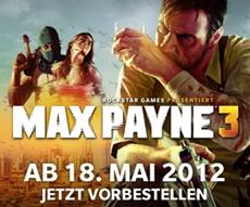 """Max Payne 3 """"Design und Technologie""""-Reihe: Bullet Time heute um 18 Uhr"""