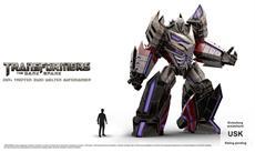 Megatron aus Transformers: The Dark Spark im Portrait