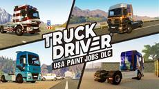 """Mit vier länderspezifischen """"Lackierungen""""-DLCs erhält Truck Drivereinen neuen Look"""