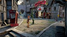 Modernes Point-and-Click Piratenabenteuer Willy Morgan and the Curse of Bone Town