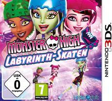 Monster High: Labyrinth Skaten ab sofort auch für Nintendo 3DS erhältlich