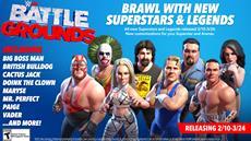 Mr. McMahon, Paige und Ricky Steamboat steigen im f&uuml;nften Roster-Update von WWE<sup>&reg;</sup> 2K Battlegrounds in den Ring