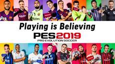 """Neue Kampagne """"Playing is believing"""" gestartet - zahlreiche In-game-Aktionen in PES 2019 verfügbar"""