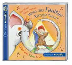 """Neue Kinderlieder-CD """"Wenn das Faultier Tango tanzt. Lieder vom Sams & Co"""""""