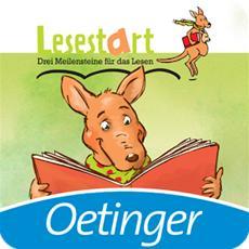 """Neue Oetinger App: Lesestart """"Mein neuer Freund, das Känguru"""""""