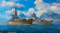 Neue US-Schlachtschiffe segeln mit dem neuesten Update zu World of Warships