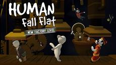 New Human: Fall Flat User-Generated Contest Winning Level, Factory, Out Tomorrow on PC in Free Update!