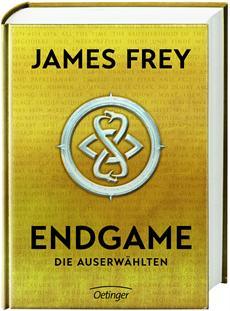 """Oetinger veröffentlicht crossmediale """"ENDGAME""""-Trilogie von US-Starautor James Frey"""
