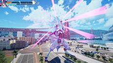 Override: Mech City Brawl heißt Stardust, das freche mechanische Einhorn, im Kampf willkommen