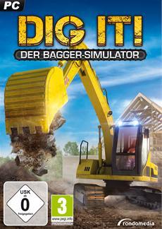 DIG IT! Der Bagger-Simulator - Tankt die Maschinen und startet die Motoren!