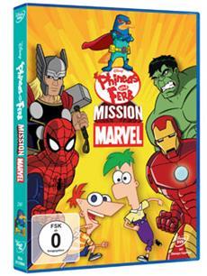 Phineas und Ferb Mission Marvel - Ab 6. März auf DVD