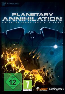 Planetary Annihilation ab heute als Boxversion verfügbar