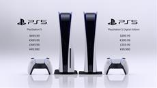 PlayStation 5 erscheint diesen November für 399,99 Euro für die Digital Edition und für 499,99 Euro für die PS5 mit Ultra-HD-Blu-ray-Laufwerk
