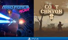 R-Type-inspired side-scroller 'Rigid Force Redux' and punchy Wild West shooter 'Colt Canyon' out on PS4 today