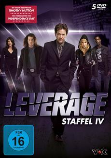 Review (DVD): Leverage - Staffel IV