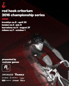Rockstar Games präsentiert die 2016 Red Hook Criterium Championship Cycling Series