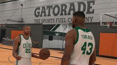 Schauspieler Michael B. Jordan im Meine KARRIERE-Modus von NBA<sup>&reg;</sup> 2K17