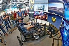 SimRacing Expo lockt Europas beste Piloten und zahlreiche Aussteller an den Nürburging