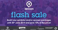 The devcom Expo Flash Sale Ends June 30th