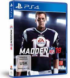 Tom Brady wird EA SPORTS MADDEN NFL 18 Coverstar