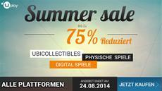 Ubisoft startete Summer Sale im Uplay Shop