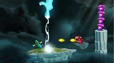 Ubisofts Rayman<sup>&reg;</sup> Legends bietet freischaltbare Kost&uuml;me von Mario<sup>&trade;</sup> und Luigi<sup>&trade;</sup>